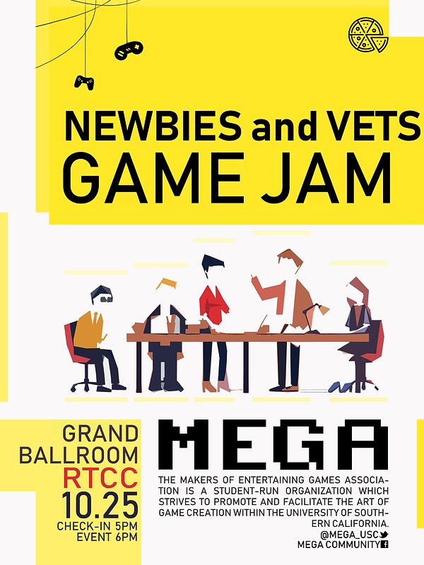 Newbies and Vets Game Jam (P1).