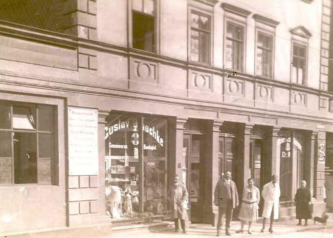 Geschäftshaus um 1920