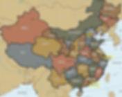 סין מפת מחוזות