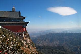 הר ג'יזו שאן, טרקים במחוז יונאן