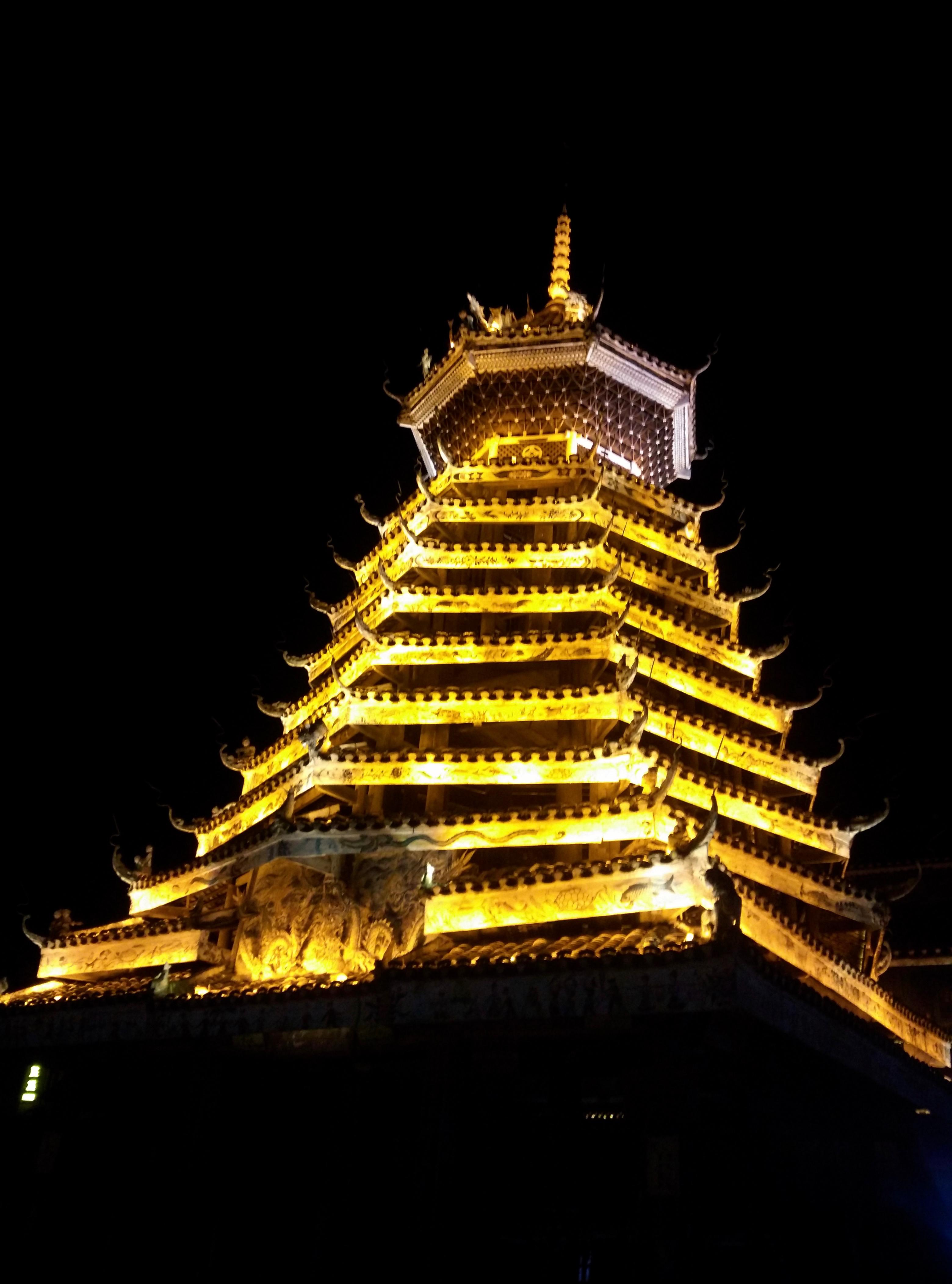 מגדל תוף של מיעוט הדונג