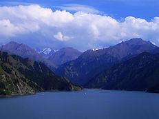 """נוף מ""""הר אלף הצבים"""", לימינג, מחוז יונאן"""