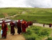 """, מערב סצ'ואןבית הספר לנזירות- """"אניגומפה"""", טגונג, הרמה הטיבטית"""