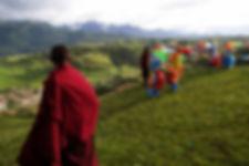 נזיר טיבטי בגנזי, מערב סצ'ואן