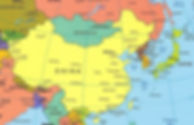סין- מפה מדינית