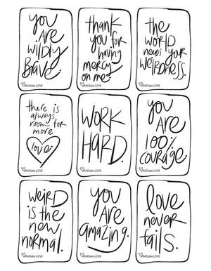 Rad Love Notes 5