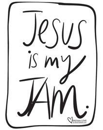 Jesus is my jam