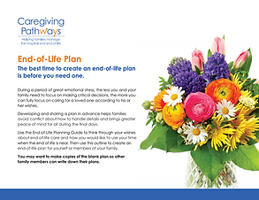 End-of-Life Plan Template page 1