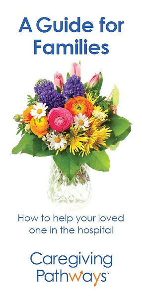 Hospital guide to give to family caregiv