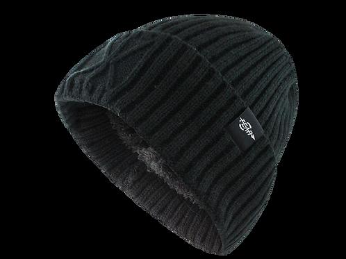 Fear0 Extreme - Warm Black Cuff Winter Sport Skullie