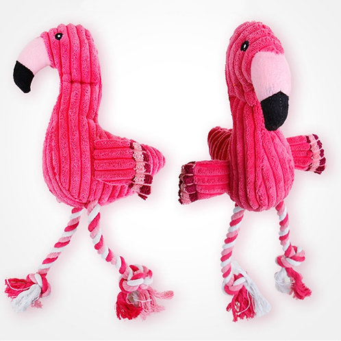 Squeaky, Fun, Dogs Animal Shape  Chew toys - Squeaker Red Bird Toy