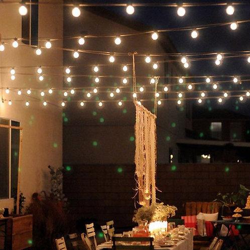 10M 50Led Solar Powered Bulbs Led String Lights for Outdoor Lighting