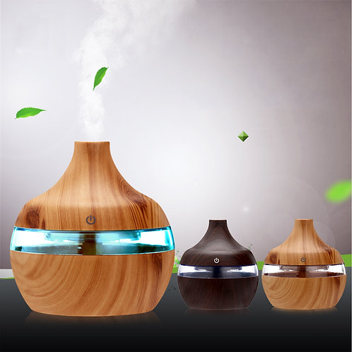 300ml Air Aroma Essential Oil Diffuser 7 Color Led Night Light