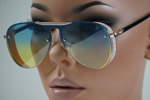 The Hottest Aviators Ever (Blue-Yellow)