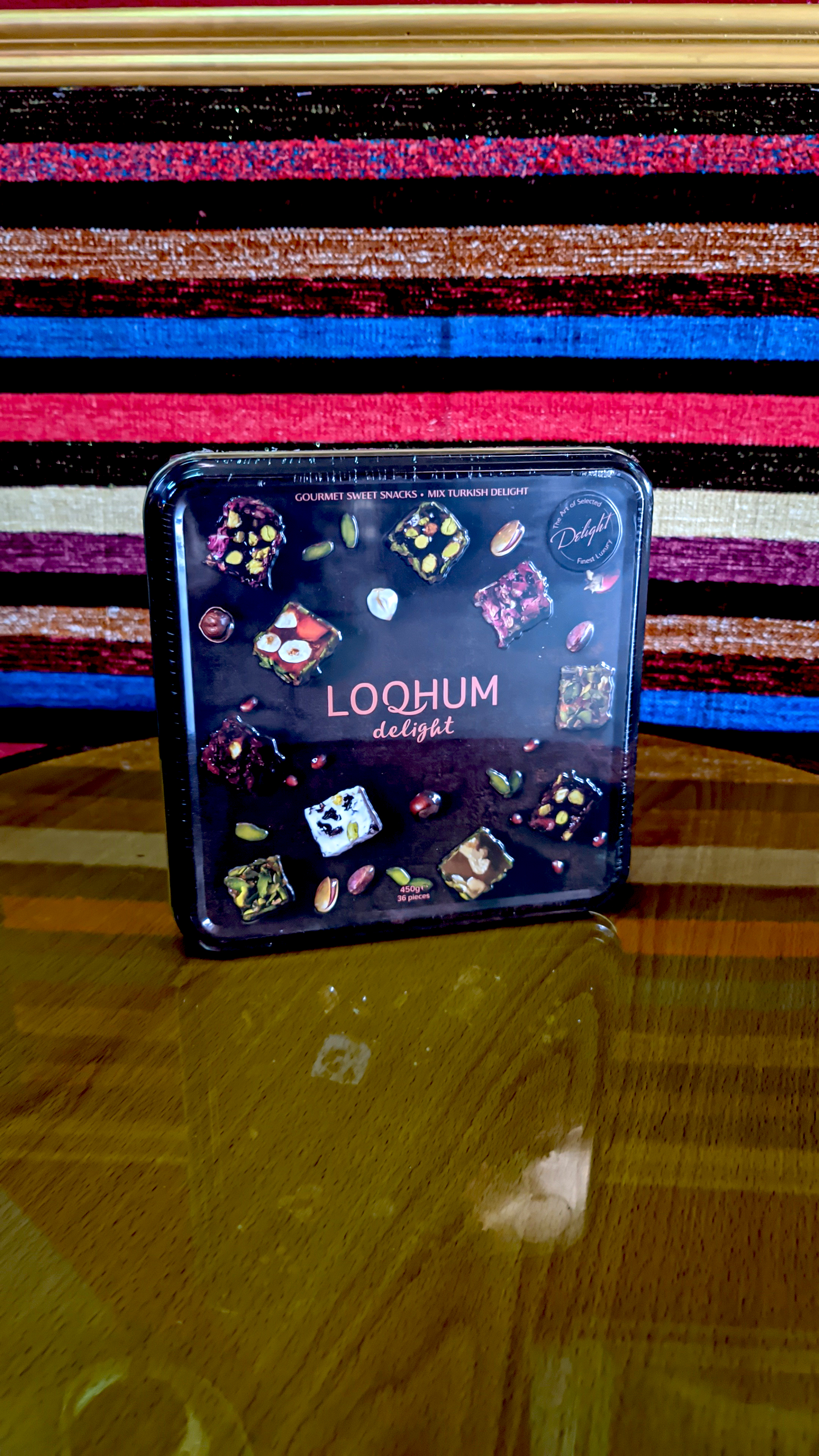 Loqhum Delight - Gourmet Sweet Snacks