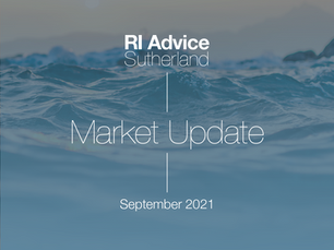 RI Advice Monthly Market Update – September 2021