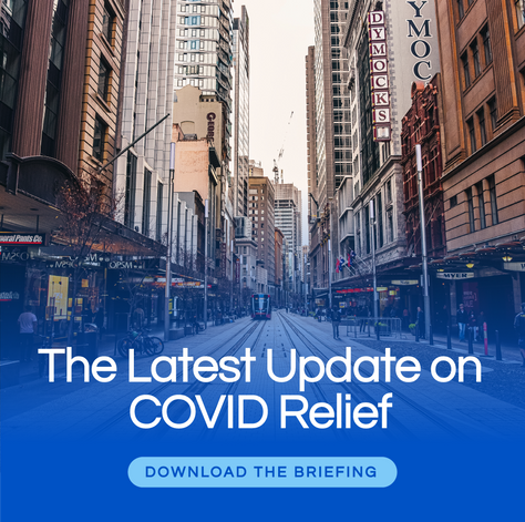 COVID Relief - Update as of 30 July, 2021