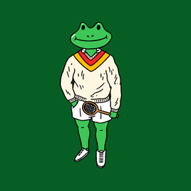 MFDC_Illustration_People_Frog_TennisSwea