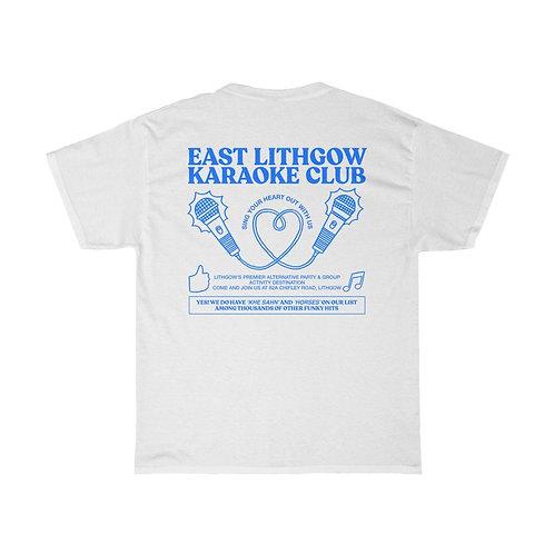The East Lithgow Karaoke Club - Fauxvenir Tee