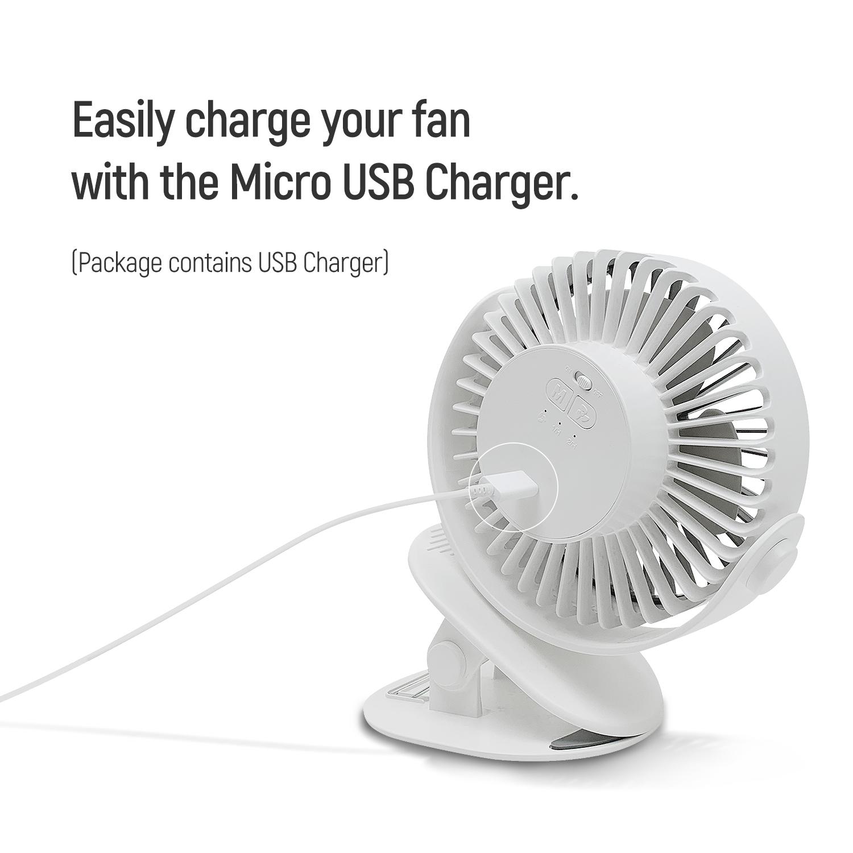 Clip-on Fan
