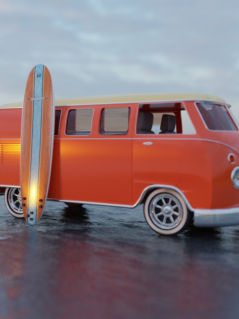 Volkswagen Camper Van