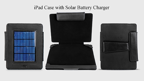 IPAD PROTECTIVE CASE WITH SOLAR CHARGER