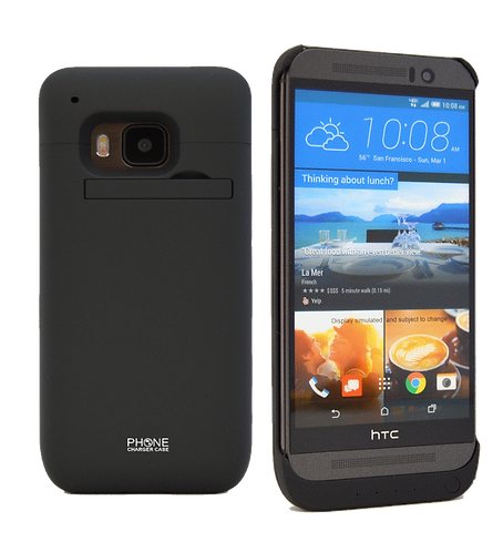 HTC One M9 Battery Case 3200 mAh Power Case