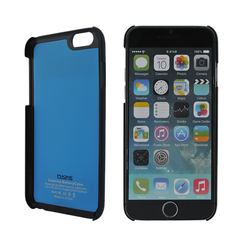 """iPhone 6 Power Case 4.7"""" External Protective 2800"""