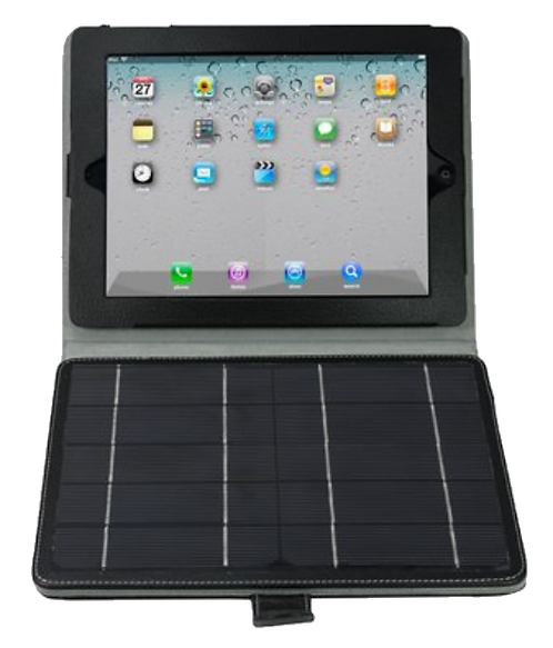 iPad Case with Detachable Solar Panel