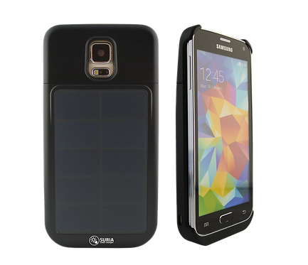 Samsung Galaxy S5 Power Case with Solar Charger