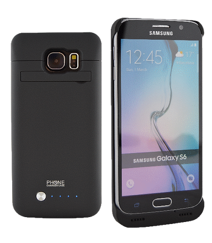 Samsung Galaxy S6 4200MAh Power Battery Case