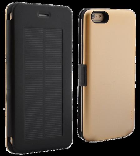 iPhone 6 PLUS MFi Solar Power Case Magnetic Flip