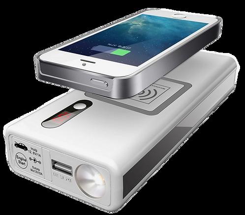 Wireless Qi Jump Starter 12000mAH 400 Amps