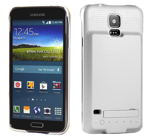Samsung Galaxy S5 3500 mAh Integrated Power Case