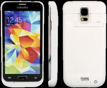 Samsung Galaxy S5 Power Case 4800mAh
