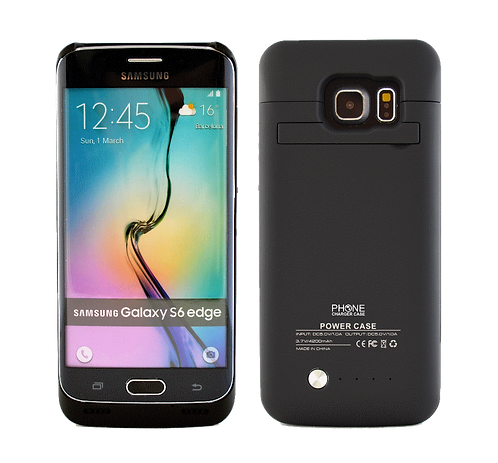 Samsung Galaxy S6 Edge 4200MAh Power Battery Case