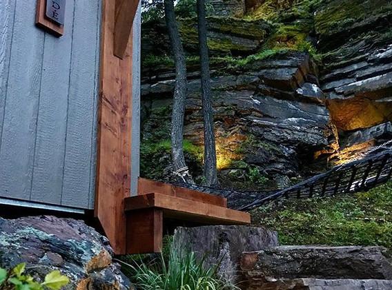 The Cliffside Retreat @whiteravenvenue - epic shot