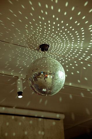 disco ball party berlin event design