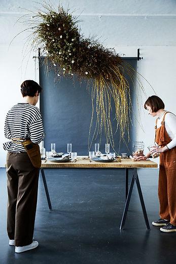 Neff floral installation event design wishbone berlin