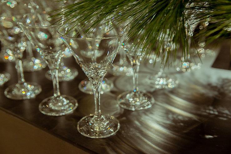 xmas cocktail berlin taube grau event design