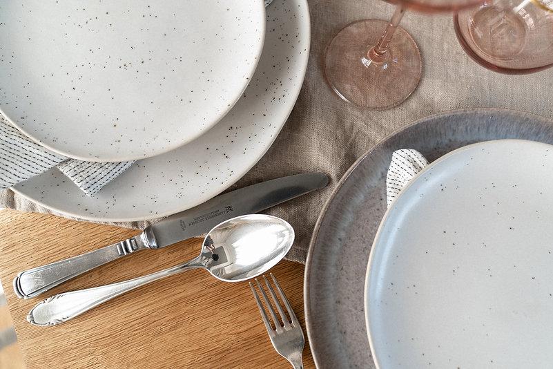 alva ceramics plate tablesetting berlin event design