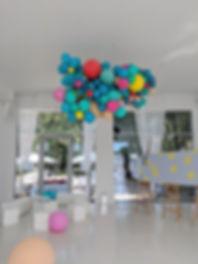 Balloon installation at Bridge studios berlin