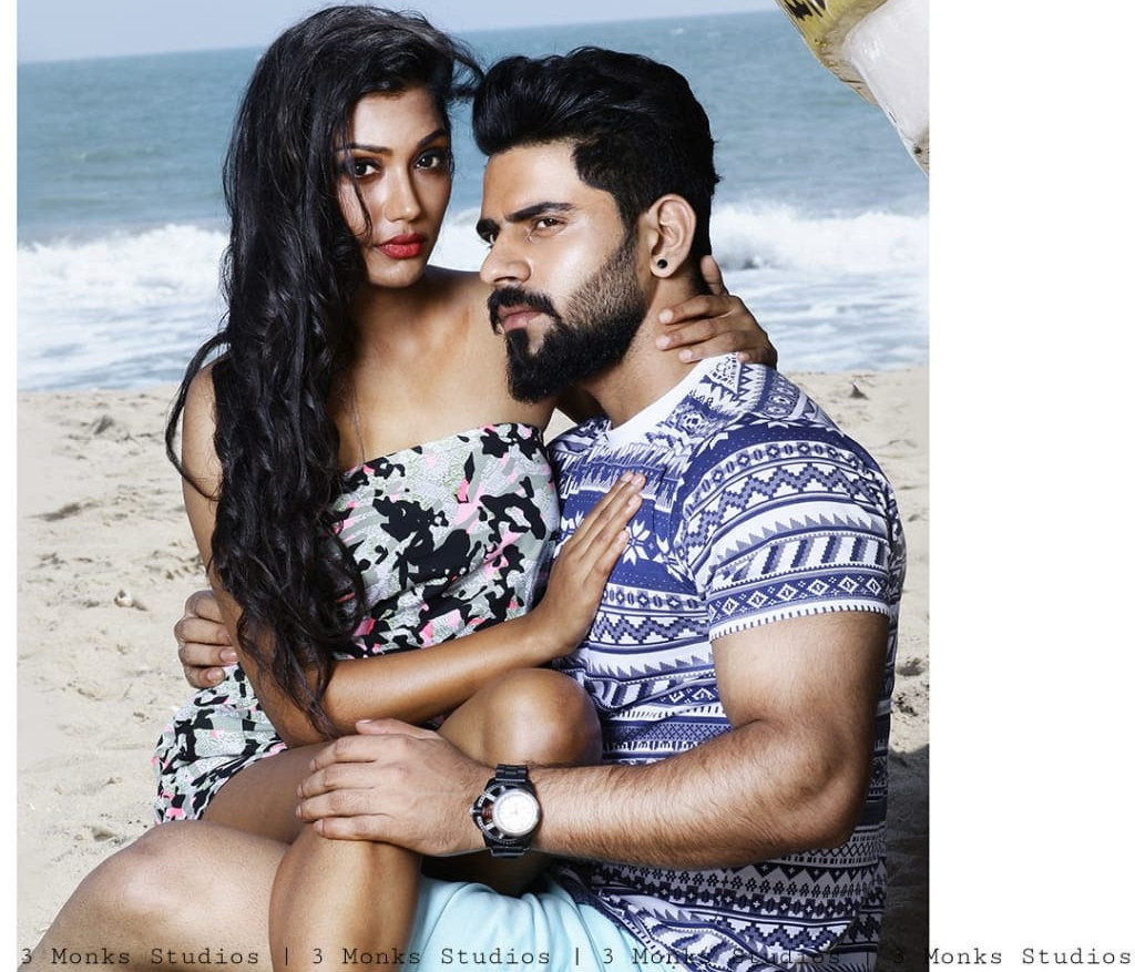 jeans shoot chennai with model Sonam & Mr Peter England Bala Krish