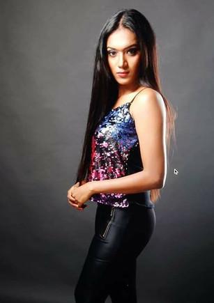 Model Ameesha... Profile shoot Makeup Ar