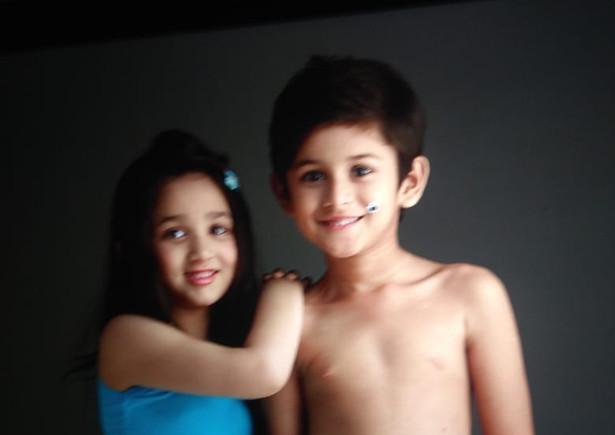 Inner wear shoot with kid model Advaith (Chennai) and Chhavi (Bangalore)