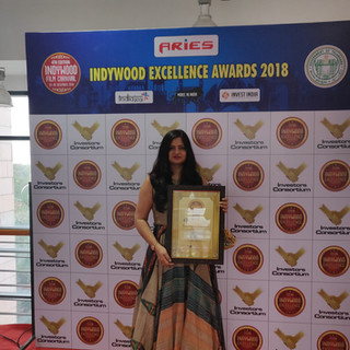 Indywood Excellency Certificate for talent management