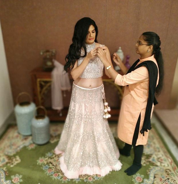 Bridal lahanga shoot on progress... Mode