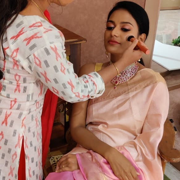 Bridal Shoot... Models Abhinaya, Nisha a