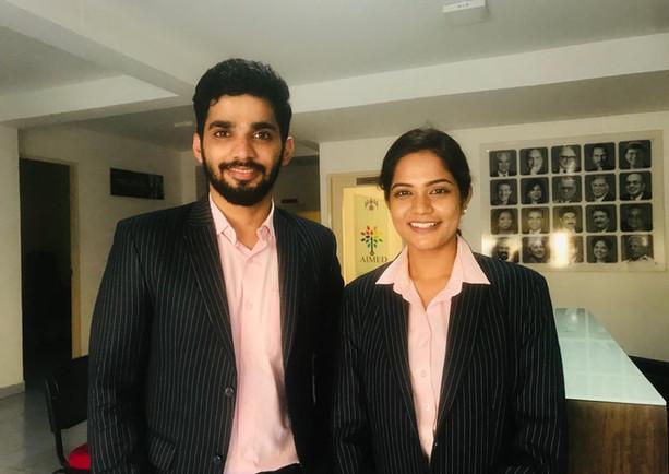 Achhi masala educational shoot educational shoot with model Uthra and model Abhishek