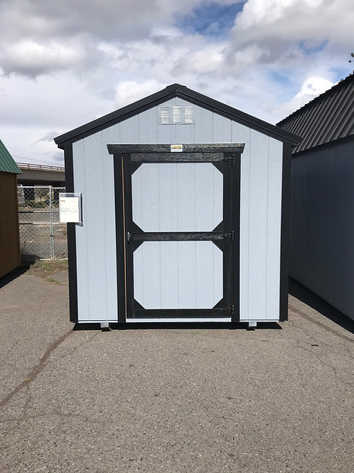 8x12 Utility Front Door Shed